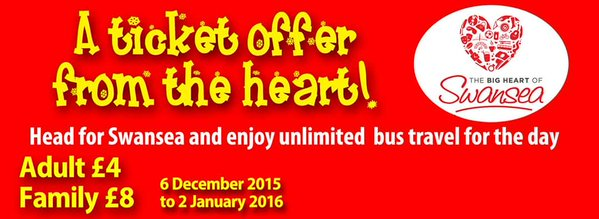 Christmas bus offer 2015