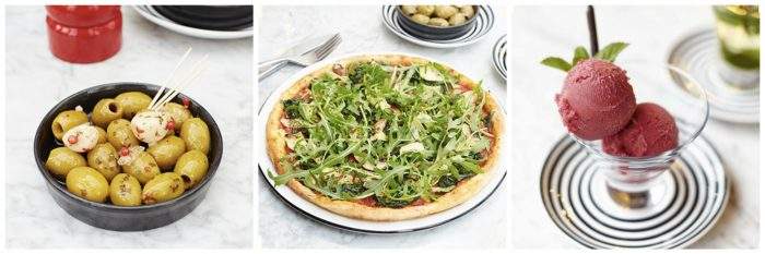 pizza express vegan courses