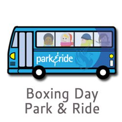 First Cyrmu and the City and County of Swansea will be putting on extra Park & Ride services on a Saturday, Sunday and also a Boxing Day Park & Ride service too!