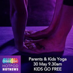 Hot Pod Yoga FREE kids